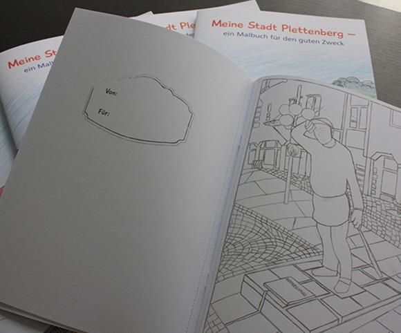 Printmedien Malbuch