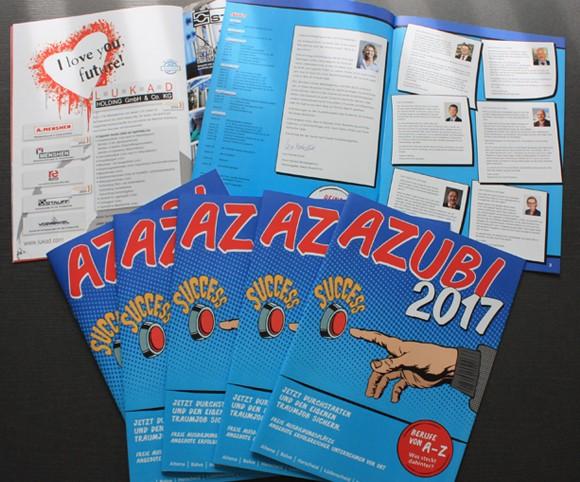 Azubi-Broschüre für alle Schüler in der Region