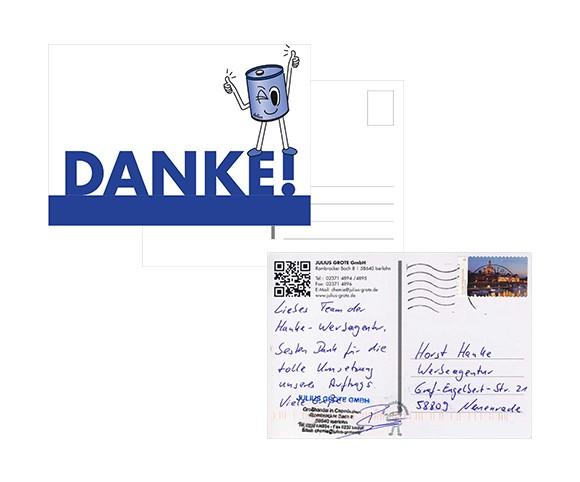 Printmedien Mailing