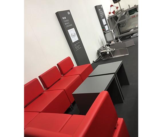 Messebau Lounge