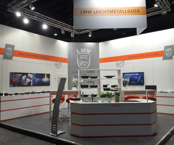 Messestand Ambiente 2017 LMW