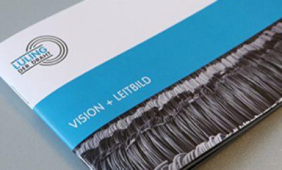 Flyer Vision und Leitbild 2017