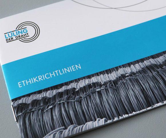 Flyer Ethikrichtlinien Lueling