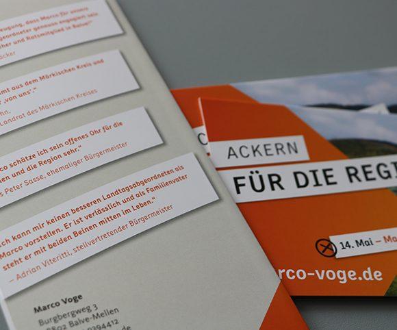 Flyer Landtagswahl 2017 CDU